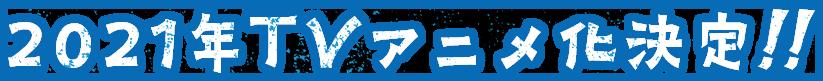 2021年TVアニメ化決定!!